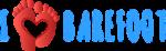 Logo I love barefoot