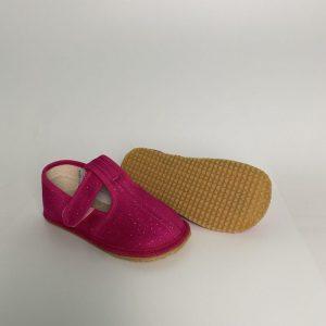 BEDA papuče dievčenské - trblietka SLIM