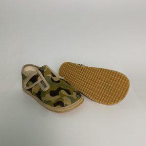 BEDA papuče chlapčenské - vojenské