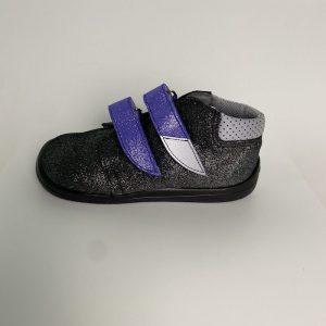 BEDA celoročné kožené topánky s membránou - Dark Violette