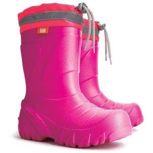 Demar MAMMUT - Detské snehule / gumáky ružové